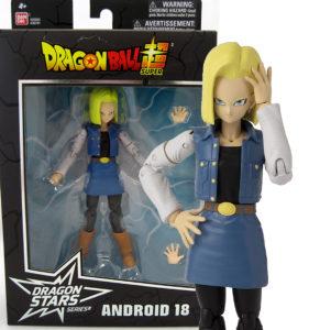 Muñeco de Androide nº 18 Bandai Dragon Stars S12