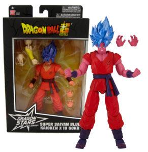 Figura Goku SSB Kaioken Bandai DS S6