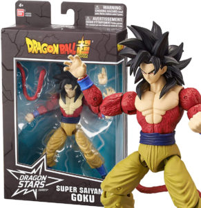 Muñeco de Son Goku SSJ4 Bandai DS S9