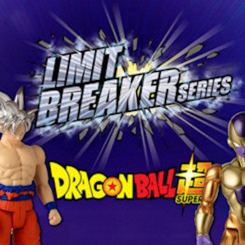 Figuras Limit Breaker de Dragon Ball Super de Bandai