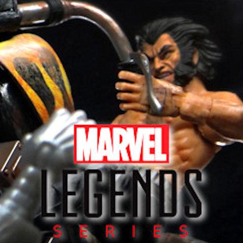 Muñecos Marvel Legends de Hasbro