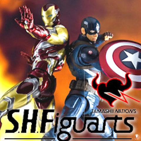 Muñecos S.H. Figuarts de Marvel