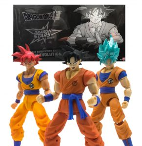 Figuras Exclusivas de SDCC 2018 de Goku de Dragon Stars