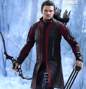 Figura Hot Toys Hawkeye   The Avengers: Age of Ultron   MMS 289