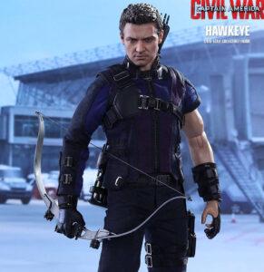 Figura Hot Toys Hawkeye   Captain America: Civil War   MMS 358
