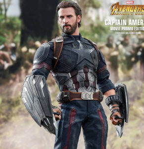 Figura Hot Toys Captain America - Movie Promo Edition   The Avengers: Infinity War   MMS 481