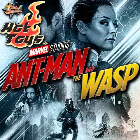 Todas las Figuras Hot Toys MMS de la película de Marvel - Ant-Man and the Wasp
