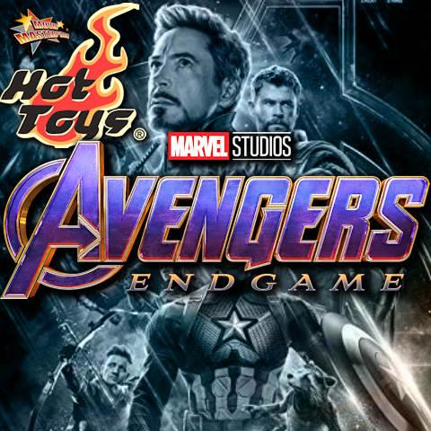 Todas las Figuras Hot Toys MMS de la película de Marvel - Avengers Endgame