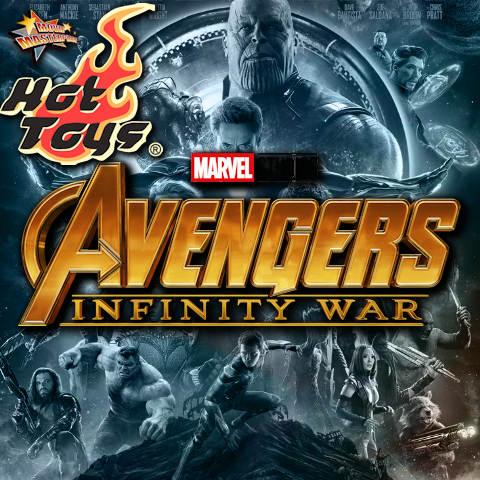 Todas las Figuras Hot Toys MMS de la película de Marvel - Avengers: Infinity War