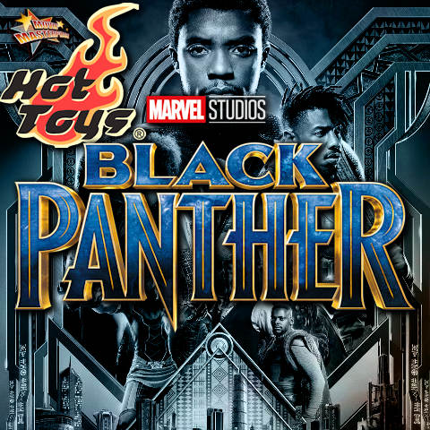 Todas las Figuras Hot Toys MMS de la película de Marvel - Black Panther