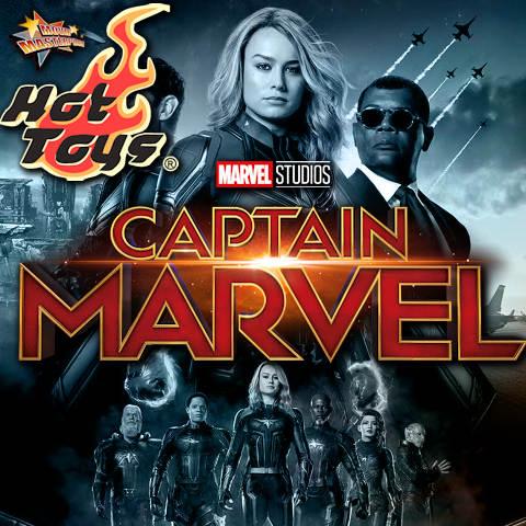 Todas las Figuras Hot Toys MMS de la película de Marvel - Captain Marvel