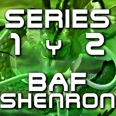 Figuras Dragon Stars Series 1 y 2 - BAF Shenron - Bandai - Dragon Ball