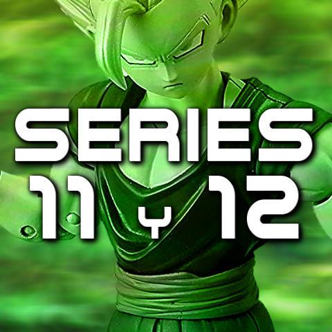 Figuras Dragon Stars Series 11 y 12 - Bandai - Dragon Ball