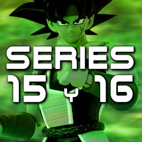 Figuras Dragon Stars Series 15 y 16 - Bandai - Dragon Ball