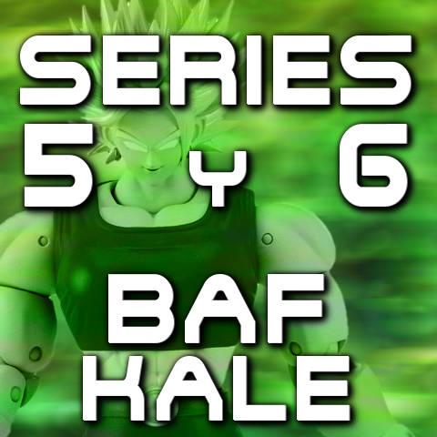 Figuras Dragon Stars Series 5 y 6 - BAF Kale - Bandai - Dragon Ball