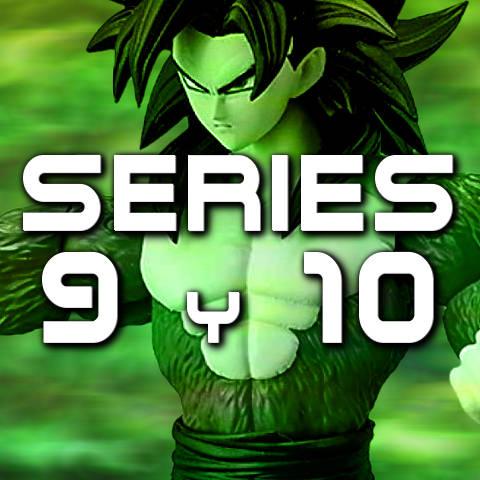 Figuras Dragon Stars Series 9 y 10 - Bandai - Dragon Ball