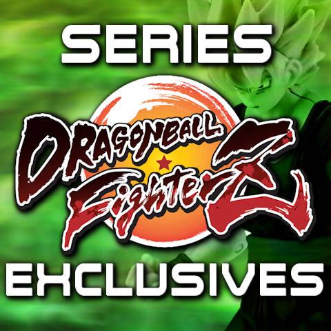 Figuras Dragon Stars Series Exclusives FighterZ - Bandai - Dragon Ball