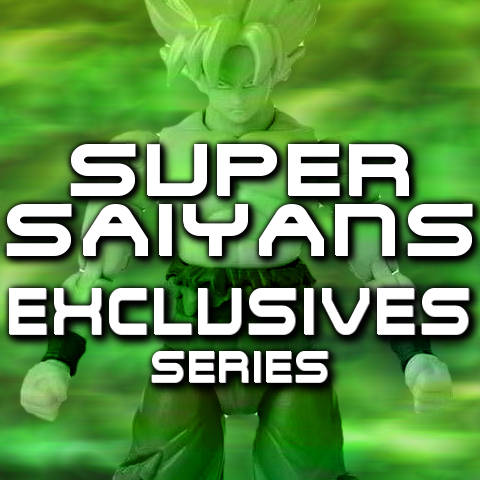 Figuras Dragon Stars Series Exclusives Super Saiyans - Bandai - Dragon Ball