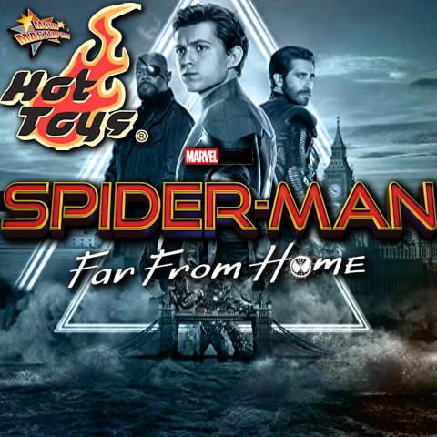 Todas las Figuras Hot Toys MMS de la película de Marvel - Spider-Man: Far From Home