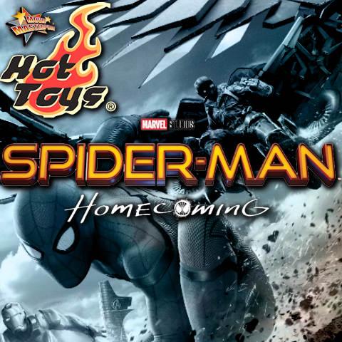 Todas las Figuras Hot Toys MMS de la película de Marvel - Spider-Man: Homecoming