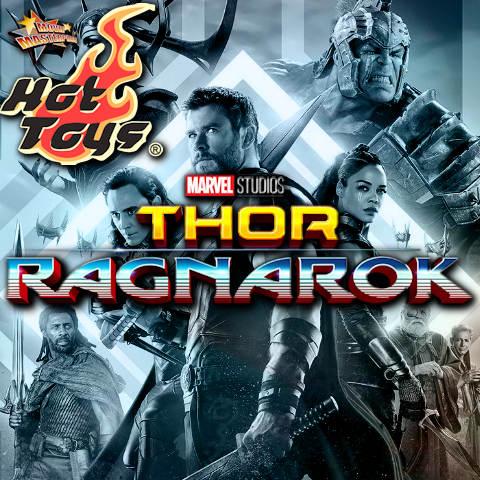 Todas las Figuras Hot Toys MMS de la película de Marvel - Thor: Ragnarok