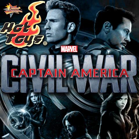Todas las Figuras Hot Toys MMS de la película de Marvel - Captain America: Civil War