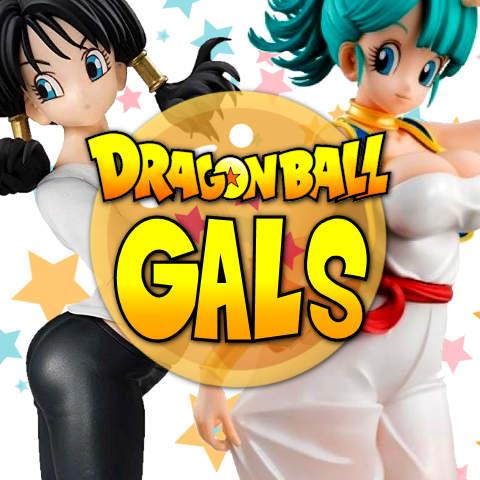Figuras Dragon Ball GALS de Megahouse y Toei