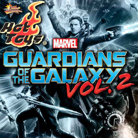 Todas las Figuras Hot Toys MMS de la película de Marvel - Guardians of the Galaxy Vol.2