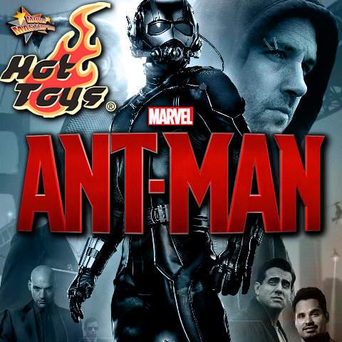Todas las Figuras Hot Toys MMS de la película Marvel del UCM- Ant-Man