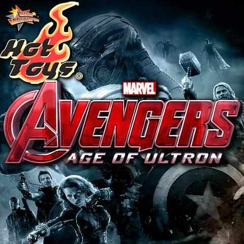 Todas las Figuras Hot Toys MMS de la película Marvel del UCM- Avengers: Age of Ultron