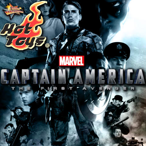 Todas las Figuras Hot Toys MMS de la película Marvel del UCM - Captain America: The First Avenger