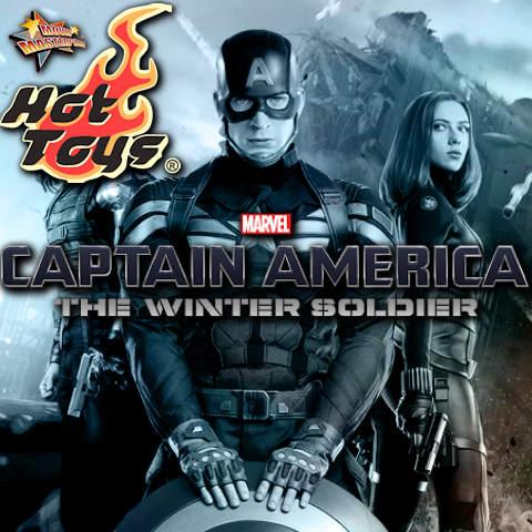 Todas las Figuras Hot Toys MMS de la película Marvel del UCM - Captain America: The Winter Soldier