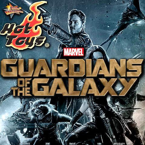 Todas las Figuras Hot Toys MMS de la película Marvel del UCM - Guardians of the Galaxy