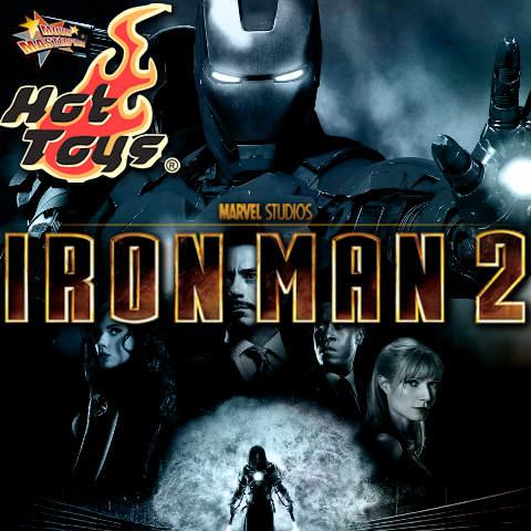 Todas las Figuras Hot Toys MMS de la película Marvel del UCM - Iron Man 2
