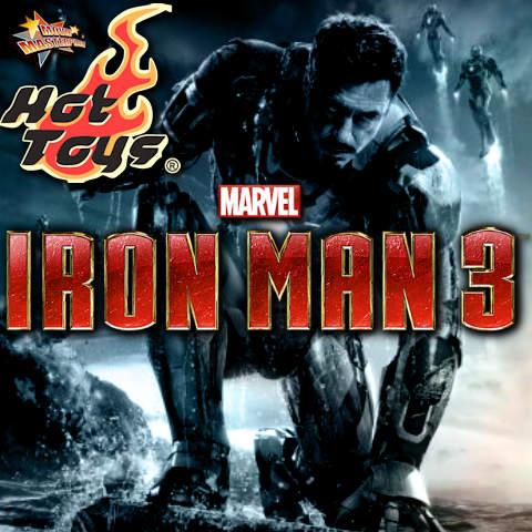 Todas las Figuras Hot Toys MMS de la película Marvel del UCM - Iron Man 3