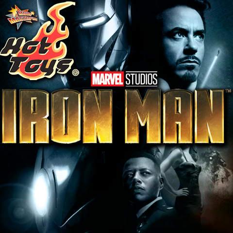 Todas las Figuras Hot Toys MMS de la película Marvel del UCM - Iron Man