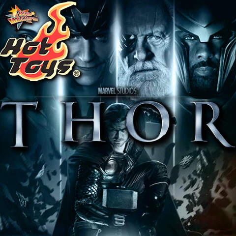 Todas las Figuras Hot Toys MMS de la película Marvel del UCM - Thor