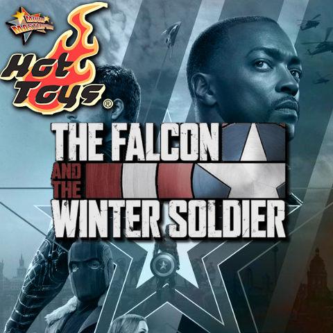 Todas las Figuras Hot Toys TMS de la Serie Marvel del UCM - The Falcon and the Winter Soldier