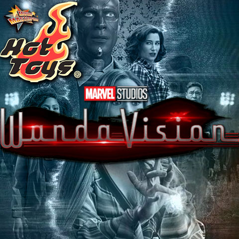 Todas las Figuras Hot Toys TMS de la Serie Marvel del UCM - Wandavision
