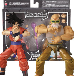 Son Goku y Mutenroshi | Bandai | Figura Dragon Stars | Exclusiva SDCC 2021