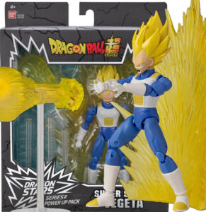 Super Saiyan Vegeta (Power Up) | Bandai | Figura Dragon Stars | Exclusiva SDCC 2021